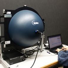 LEDや電球などのエネルギー、全光束、色などの<br>恒特性を迅速に測定するシステムです。